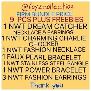 Bundle of 9PCS NWT Fashion Jewelry